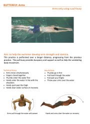 Easy Swimming Exercises to Improve Basic Swimming Techniques