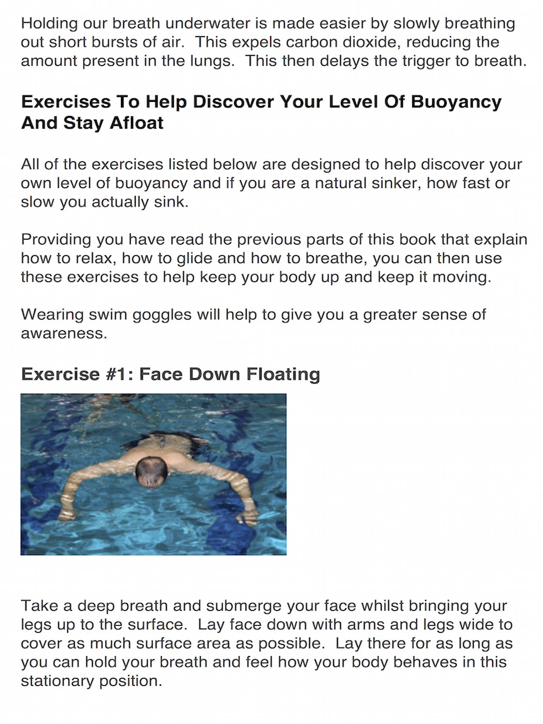 how to float sample page 3