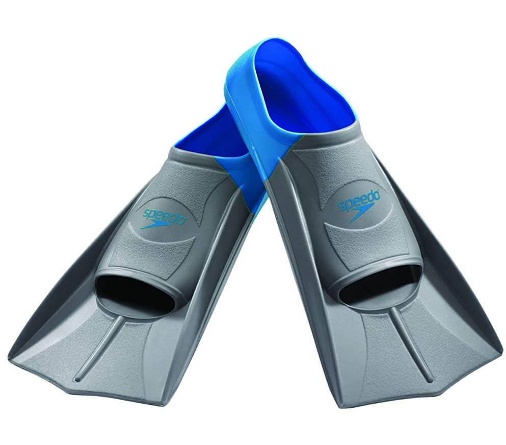 short blade training swimming flippers
