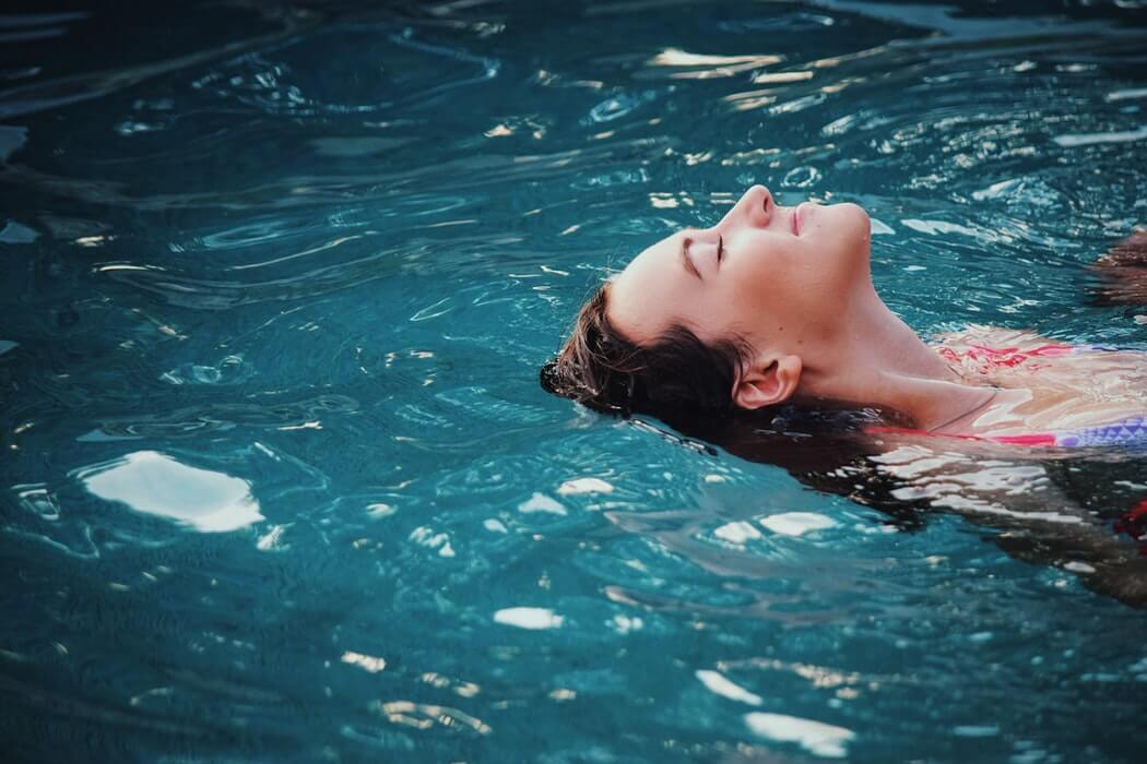 a beginners guide to relaxing in the water