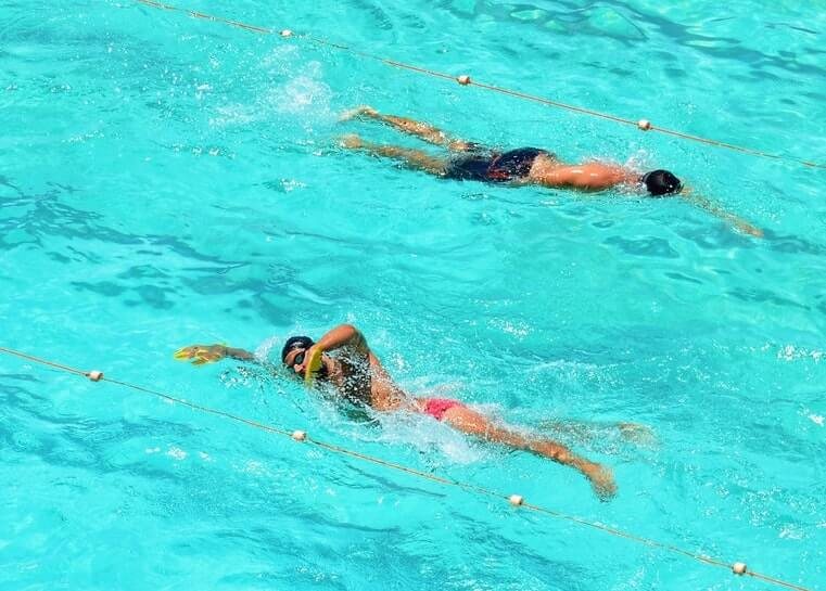 swimming workouts for beginners and improvers